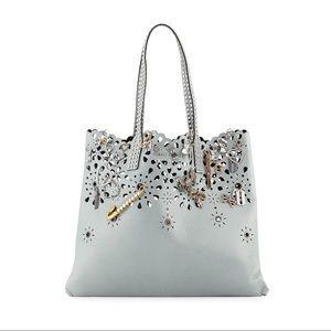 Marc Jacobs Laser Cut Embellished Tote Bag